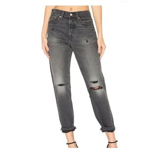 Levi's Wedgie Fit Jeans in Grey Tumble
